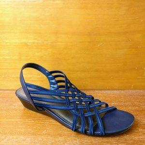 East 5th Flex Form | Navy Sandals